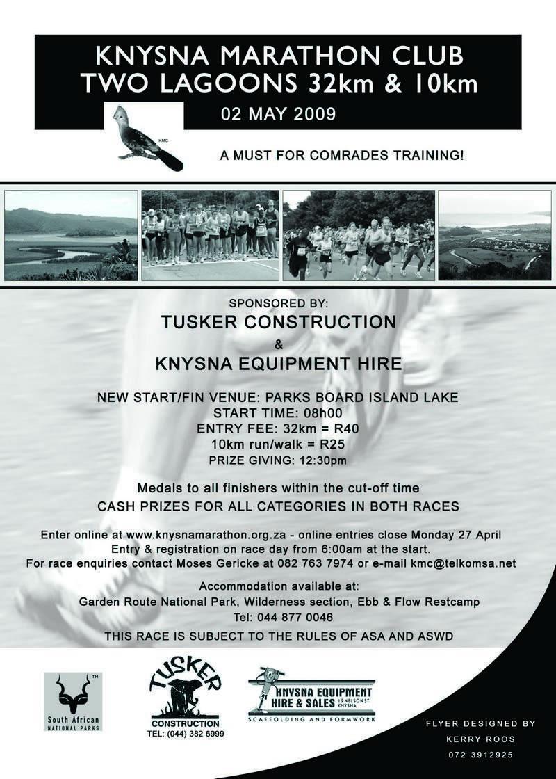 flyer | Knysna Marathon Club