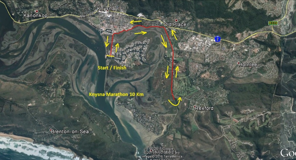 Knysna Heads Marathon 10 km
